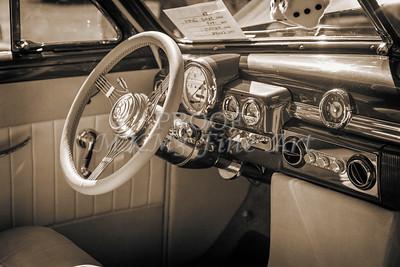 1949 Mercury Coupe Interior in Sepia 3040.01