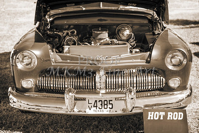 1949 Mercury Coupe Front Grill Sepia 3038.01