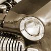 1949 Mercury Coupe Head Light Sepia Color 3039.01