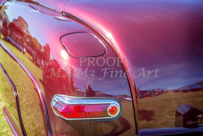 1949 Mercury Coupe Taillight in Color 3042.02