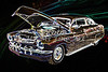 1961 Mercury Classic Car Drawing 051.02
