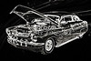 1961 Mercury Classic Car Drawing 050.02