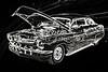 1961 Mercury Classic Car Drawing 050.02