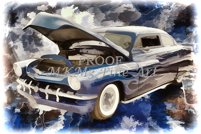 1961 Mercury Classic Car Painting 025.02