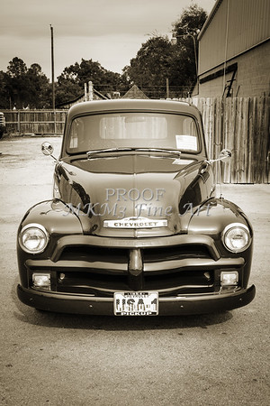 1954 Chevrolet Pickup Classic Car Photograph 6738.01