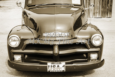 1954 Chevrolet Pickup Classic Car Photograph 6739.01