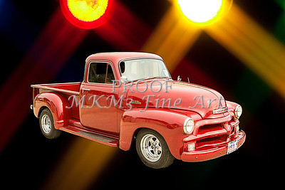 1954 Chevrolet Pickup Classic Car Photograph 6734.02