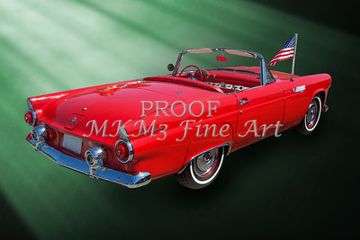 1955 Thunderbird Photograph Fine Art Prints 1248.02