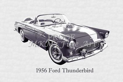 1956 Ford Thunderbird 5510.52