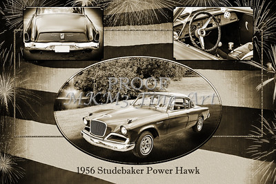 1956 Studebaker Power Hawk 5543.50