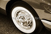 1958 Corvette by Chevrolet Wheel in a Sepia Photograph 3491.01