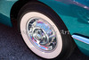 1958 Corvette by Chevrolet Wheel in a Color Photograph 3491.02
