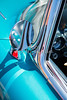 1958 Corvette by Chevrolet Outside Mirror in a Color Photograph 3492.02