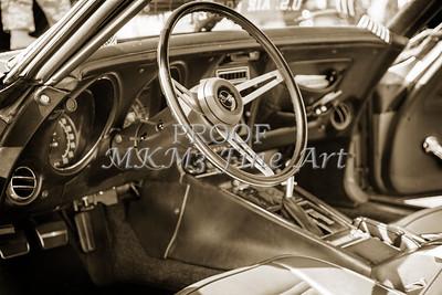 1972 Chevrolet Corvette Stingray Interior Sepia 3031.01