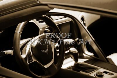 1974 Chevrolet Corvette Sepia Interior photograph 3472.01