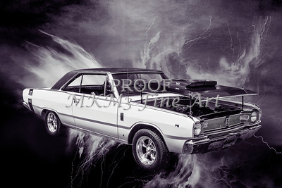 Dodge Dart Photographic Print 5533,09