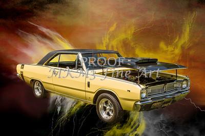 Dodge Dart Photographic Print 5533,14