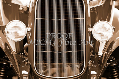 Aged Classic Car