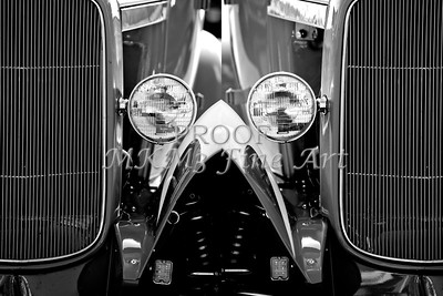 Aged Classic Car Double