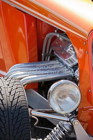 Orange Hot Rod Front End