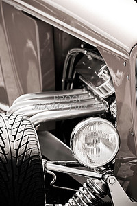 Hot Rod Front End Monochrome
