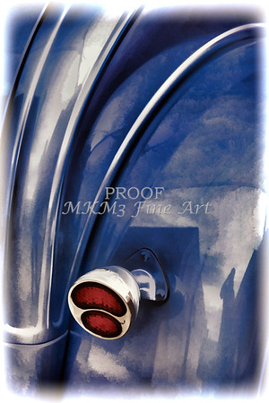 1931 Ford Model A Classic Car Painting color 3219.02