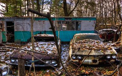 Classic Car Salvage Yard