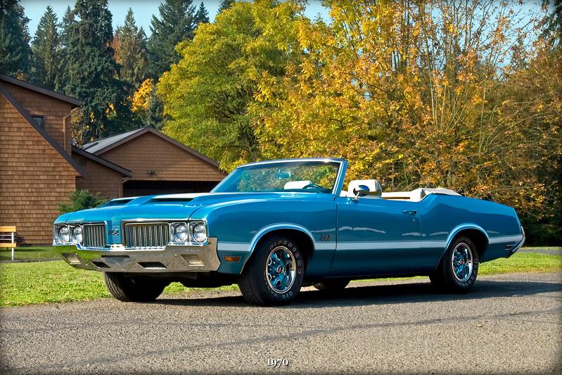 1970 Oldsmobile 442 classic car