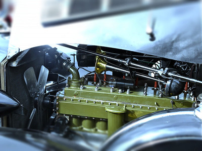 1935 Packard 1200 Sedan Motor