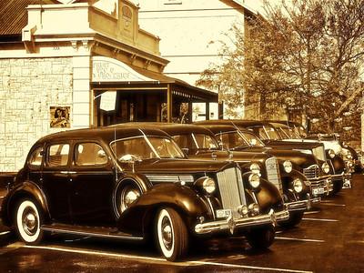 1938 Packard 120 Sedan, 1936 LaSalle 8 Sedan, 1948 Packard Clipper Sedan