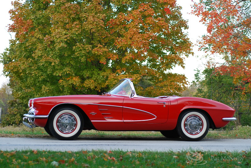 1956 Chevrolet Corvette Convertible Coupe Car Picture