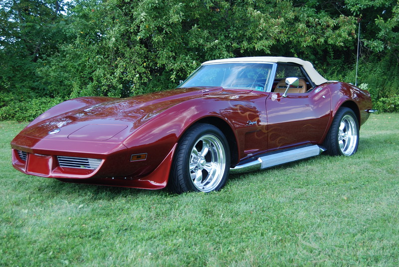 1973 Corvette Convertible Car Picture