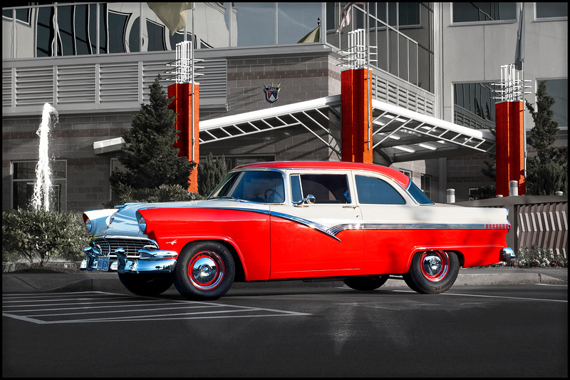 1956 Ford Fairlane Club Coupe