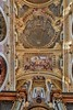 """Another most impressive ceiling in the Jesuit Church. The apparent """"dome"""" is just paint on a near flat surface."""