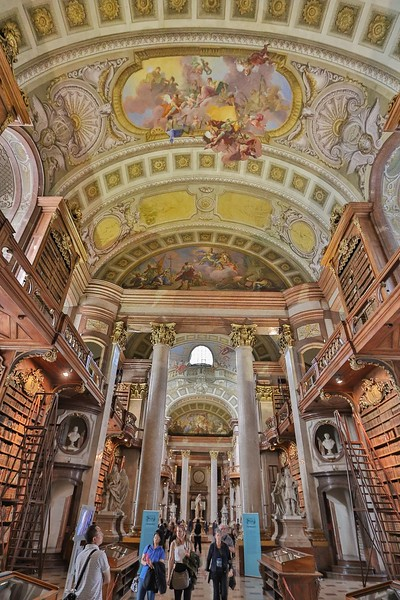 This is the largest baroque styled library in Europe.