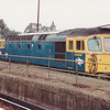 33114 sits stabled at Clapham Junction on 5th October 1991
