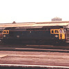 33101 runs light engine through Clapham Junction on 8th July 1989
