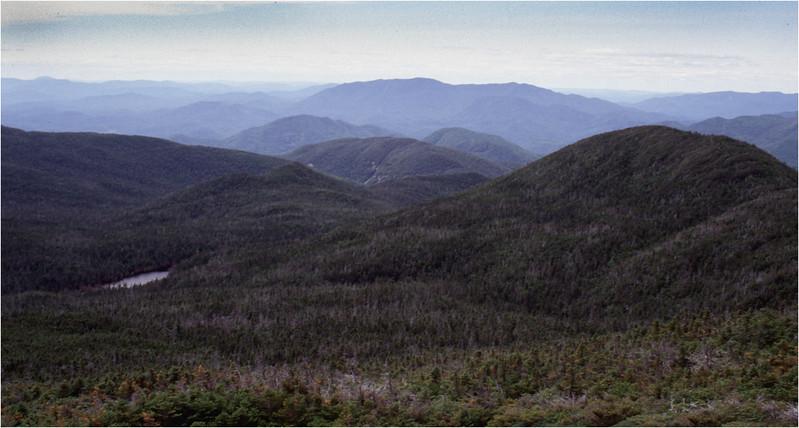 Adirondacks Mt Skylight View Lake Tear and and Gray Peak July 1995