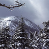 Adirondacks Mt Colden View North Summit March 1979