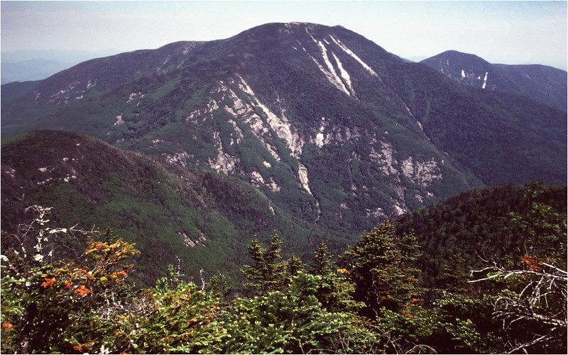 Adirondacks Nippletop Mt View of Dix Mt July 1979