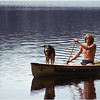 Adirondacks Forked Lake Steve Birnbaum Paddling Bucky July 1979