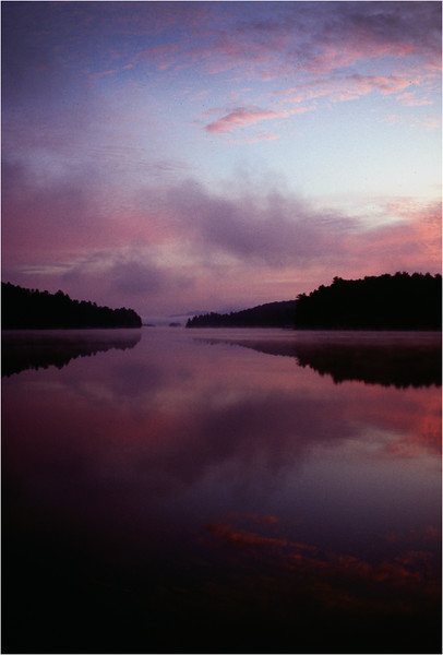 Adirondacks Long Lake Before Sunrise September 1995