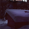 Adirondacks Lake Colden Lean-To with Alginquin January 1977