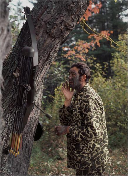 Adirondacks Long Lake Cold River Ron Stidnick Camouflage 2 October 1979