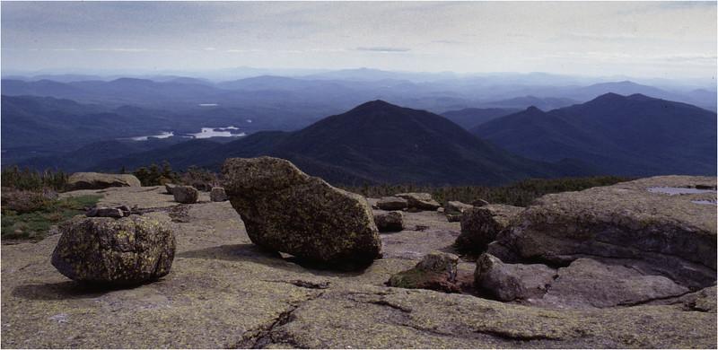 Adirondacks Mt Marcy View SE Boreas Ponds July 1995