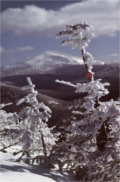 Adirondacks Mt Marcy from Phelps Mt 2 February 1978