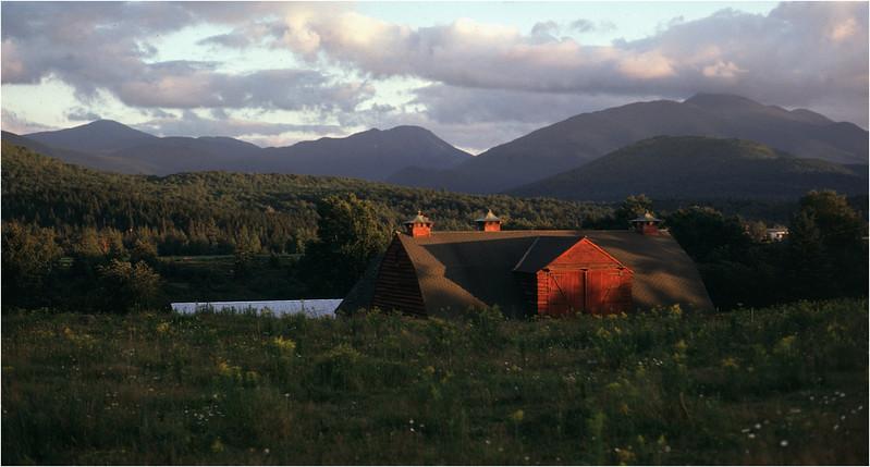 Adirondacks North Elba Mt Colden and Algonquin Farm  September 1977