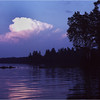 Adirondacks Forked Lake Thunderheads 2 August 1981
