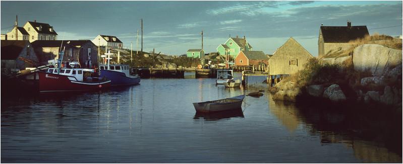 Nova Scotia Canada Peggys Cove 1 October 1988