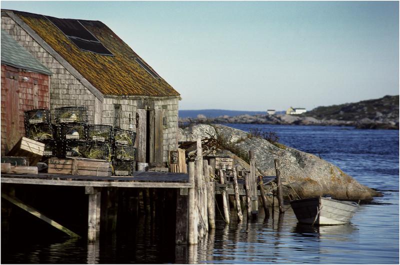 Nova Scotia Canada Peggys Cove 5 October 1988